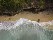 Indonesia, Bali, Aerial view of Pandawa beach - KNTF01437