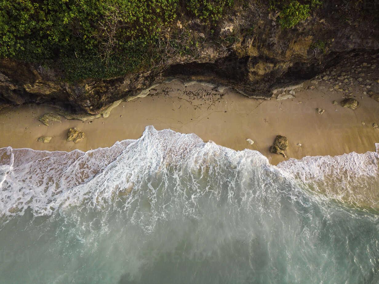 Indonesia, Bali, Aerial view of Pandawa beach - KNTF01437 - Konstantin Trubavin/Westend61