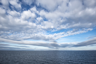 Netherlands, North Sea and clouds - ELF01910