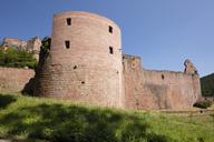 Germany, Rhineland-Palatinate, Bad Duerkheim, Hardenburg, ruin - WIF03608