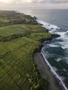 Indonesia, Bali, Kedungu, Aerial view of Kedungu Beach - KNTF01534