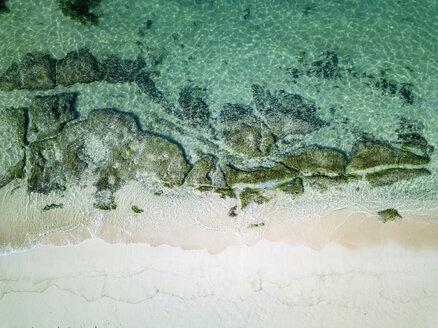 Indonesia, Bali, Aerial view of Karma beach - KNTF01610