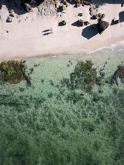 Indonesia, Bali, Aerial view of Melasti beach - KNTF01629