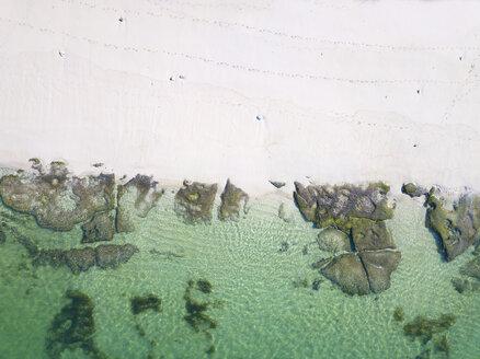 Indonesia, Bali, Aerial view of Melasti beach - KNTF01638