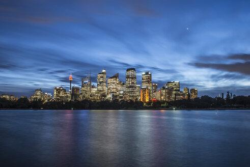 Downtown Sydney Australia Skyline After Sunset - AURF05105