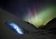 Ice Climbing under Aurora - AURF05240