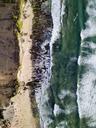 Indonesia, Bali, Aerial view of Dreamland beach - KNTF01722