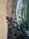 Indonesia, Bali, Aerial view of Dreamland beach - KNTF01734