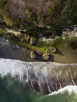 Indonesia, Bali, Padang, Aerial view of Thomas beach - KNTF01783