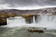Scenic View Of Godafoss Waterfall In Northern Iceland - AURF05510