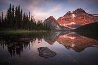 Sunset at Shadow Lake - AURF05627