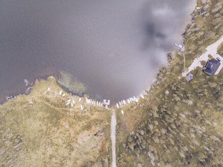 Finland, Kolari, Aerial view of Varkaankari - RSGF00005