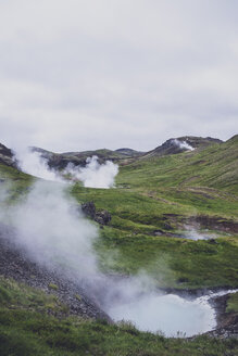 Iceland, Reykjadalur Valley, Hot Springs - MMAF00557