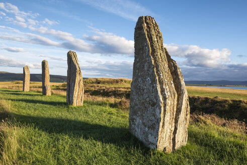 Great Britain, Scotland, Orkney, Mainland, Ring of Brodgar, neolithic stone circle - ELF01925
