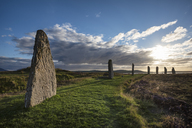Great Britain, Scotland, Orkney, Mainland, Ring of Brodgar, neolithic stone circle - ELF01928