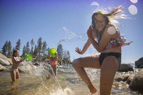 Water play at the beach - AURF05727