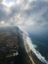 Indonesia, Bali, Aerial view of Nyang Nyang beach - KNTF01794