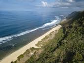 Indonesia, Bali, Aerial view of Nyang Nyang beach - KNTF01800