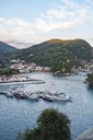 Greece, townscape of Parga at sunset - PSIF00082