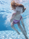Little girl under water in swimming pool - PSIF00085