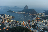 View of Sugar loaf Mountain from Mirante Dona Marta - AURF06080