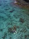 Indonesia, Bali, Aerial view of Blue Lagoon beach - KNTF01808