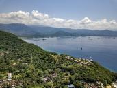 Indonesia, Bali, Aerial view of Blue Lagoon beach - KNTF01817