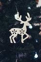 Reindeer decoration at Christmas tree - MOMF00497