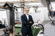 Portrait of a successful entrepreneur in his company - KNSF04782