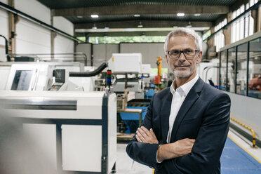 Portrait of a successful entrepreneur in his company - KNSF04860