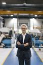 Portrait of a successful entrepreneur in his company - KNSF04950