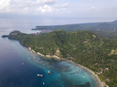 Indonesia, Bali, Aerial view of beach - KNTF01864