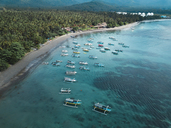 Indonesia, Bali, Aerial view of beach - KNTF01879