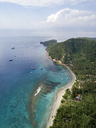 Indonesia, Bali, Aerial view of beach - KNTF01885