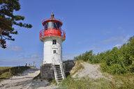 Germany, Hiddensee, lighthouse Gellen - RUEF01978