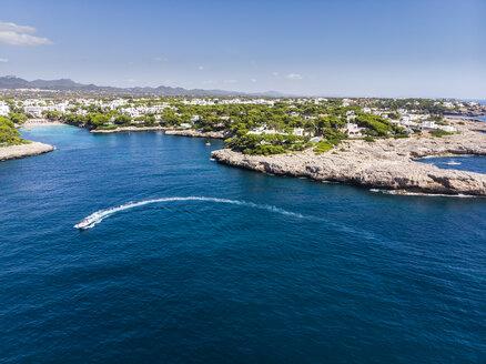 Spain,  Balearic Islands, Mallorca, Coast of Cala d'or and bay Cala Ferrera - AMF05981
