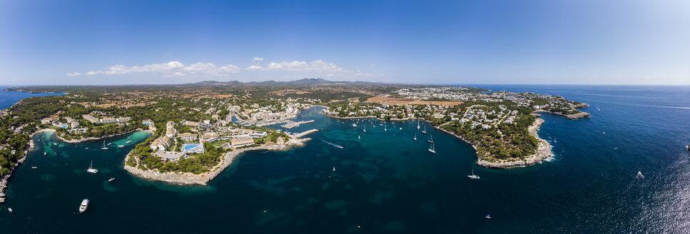 Spain, Balearic Islands, Mallorca, Region Cala d'Or, Coast of Porto Petro - AMF05994