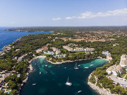 Spain, Balearic Islands, Mallorca, Region Cala d'Or, Coast of Porto Petro - AMF05997