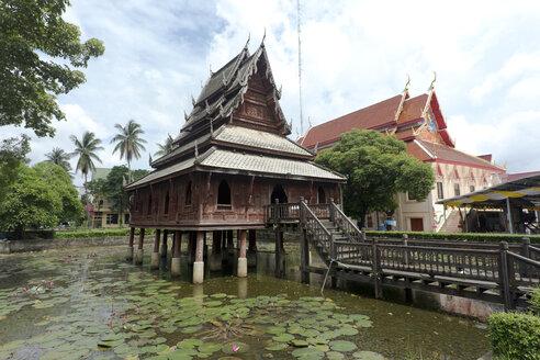 Thailand, Ubon Ratchathani, Wat Thung Sri Muang - ZCF00678