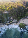 Indonesia, Bali, Aerial view of lift and beach - KNTF02033