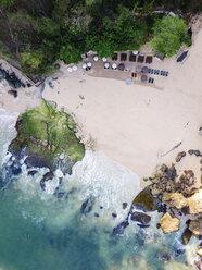Indonesia, Bali, Aerial view of beach - KNTF02036