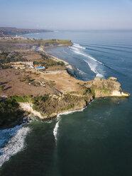 Indonesia, Bali, Aerial view of Balangan beach - KNTF02039