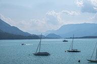 Austria, Ausseer Land, Boats on a lake - HAMF00377