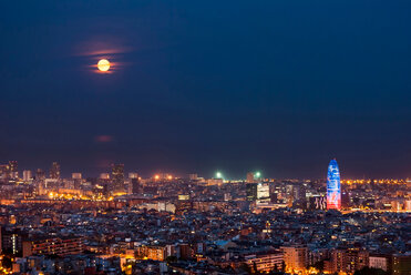 Barcelona city at night - INGF00210