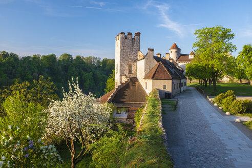 Germany, Upper Bavaria, Burghausen, Burghausen Castle - HAM00401