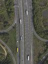 Aerial view highway near Frankfurt, Hessen, Germany - FSIF03272