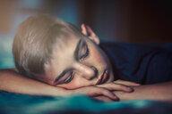 Boy sleeping on front - ISF19880