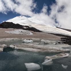 Russia, Upper Baksan Valley, Caucasus, Mount Elbrus - ALRF01342