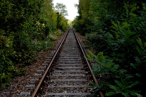 Abandoned railway track - JTF01097