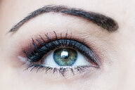 Woman's eye, close-up - PUF01324